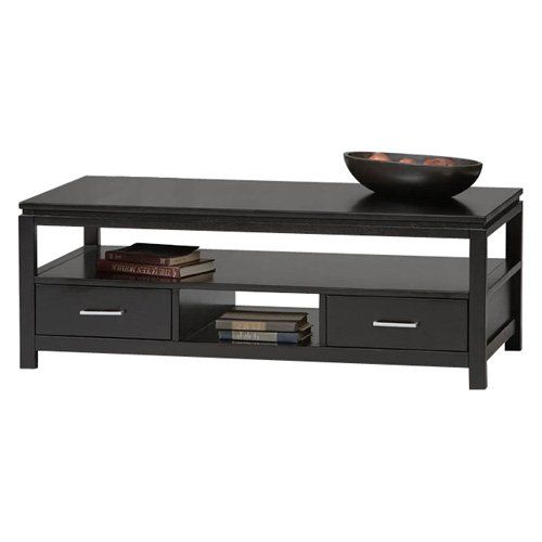 Sutton Black Coffee Table | from hayneedle.com - 25+ Best Ideas About Black Coffee Tables On Pinterest Interior