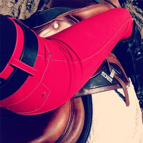 HKM breeches, definitely not classic. But I love them!