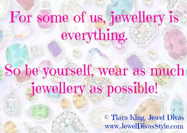 JDS - WEAR AS MUCH JEWELLERY AS POSSIBLE! - http://jeweldivasstyle.com/im-on-christmas-holiday-but-i-have-some-advice-for-you-at-the-end-of-this-year-be-yourself/