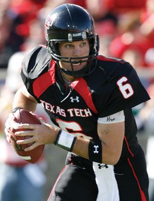 Graham Harrell. He used to be the only Tech quarterback anyone could name.