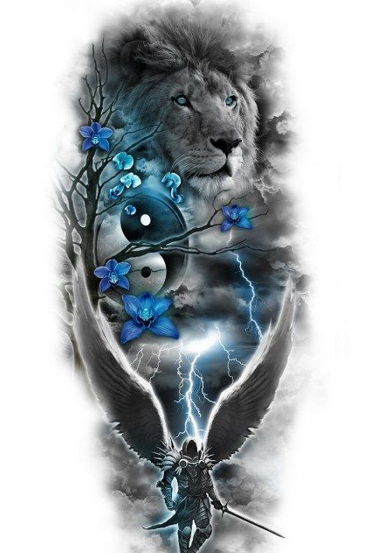 Best Lion Tattoo Design 2019 The Best Free Tattoo Design Download Lion Tattoo Fantasy Tattoos Free Tattoo Designs