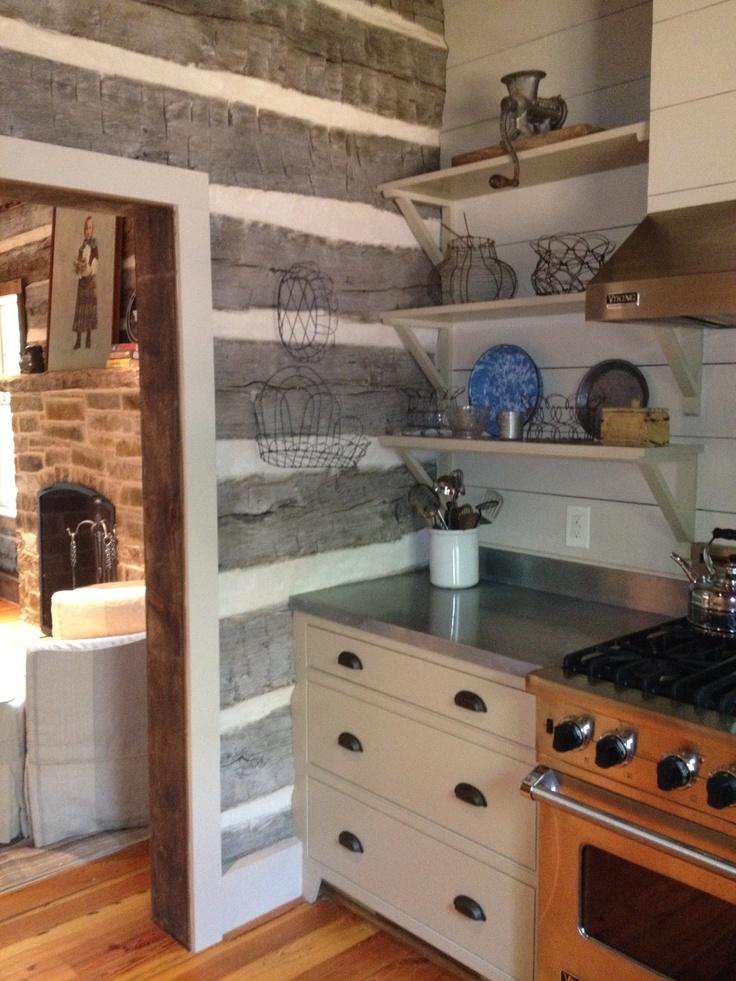 25 Best Ideas About Log House Kitchen On Pinterest Log