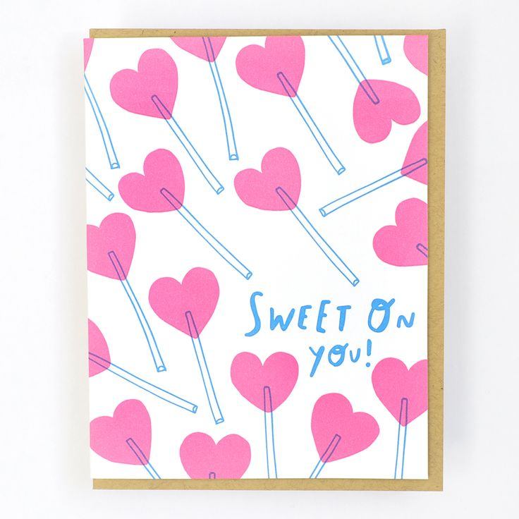 92 best greeting cards images on pinterest anniversary cards lucky inside greeting blank front greeting sweet on you m4hsunfo