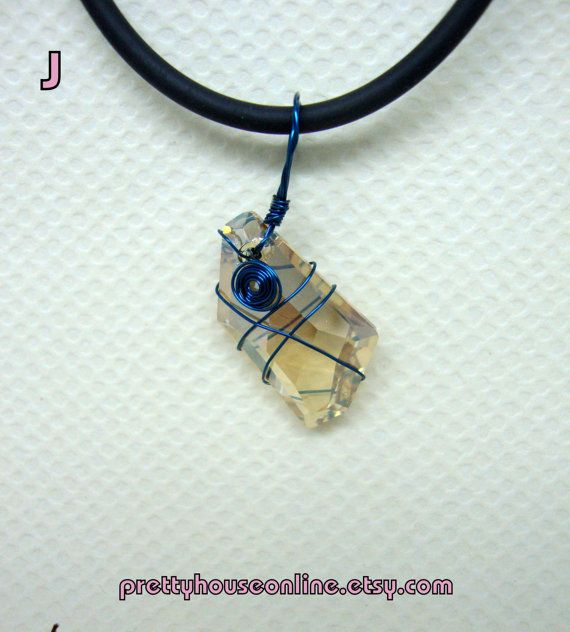 SPECIAL SALE  Handmade Wire Wrapped Pendant by PrettyHouseOnline
