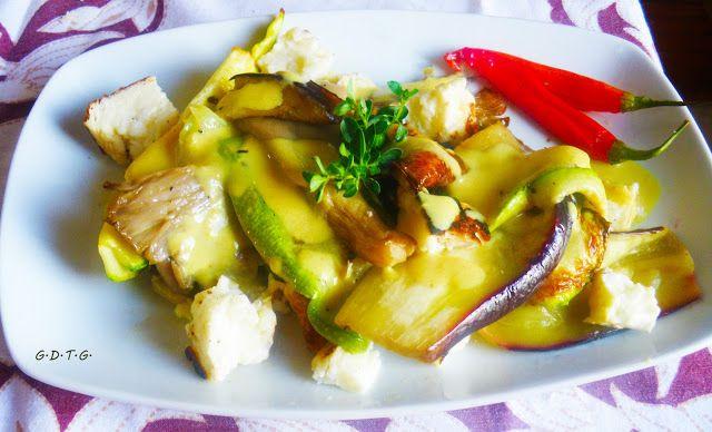 Το Ελληνικό Χρέος στη Γαστρονομία: Ψητά λαχανικά με χαλούμι
