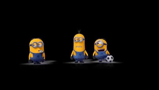 Voetbal volgens Minions - HLN.be
