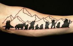 9 Timeless 'Lord Of The Rings' Tattoos So Your Love For The Classic Story Never Has To Die