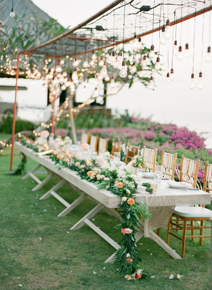 Belle of the Ball: http://www.stylemepretty.com/2015/05/07/35-gorgeous-cascading-centerpieces/