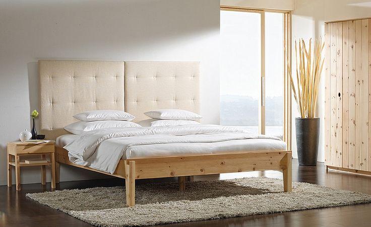 Bett Alpina ohne Betthaupt, Zirbe - Betten - Organic Living - Grüne Erde