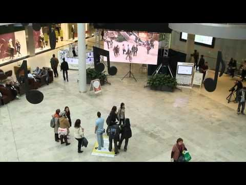 A more evolved version of the Victorias Secret angels AR experience:  Live Augmented Reality for National Geographic Channel / UPC