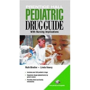 Prentice Hall Pediatric Drug Guide.  This comprehensive drug guide addresses the specialty of pediatric pharmacology in the context of nursing care, containing most medications administered to children.  Prentice Hall's Nurse's Drug Guide has been a standard resource for nurses who want safe, effective, current, and accurate drug information. Now this outstanding resource is available in a pediatric drug specific version. Comprehensive and complete. Generic and common trade names are…
