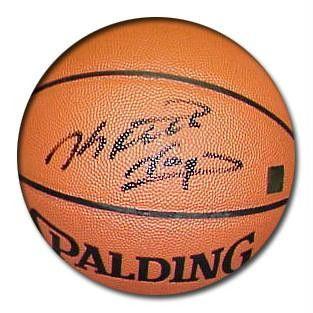 Keith Van Horn Signed Spalding Indoor-Outdoor Basketball