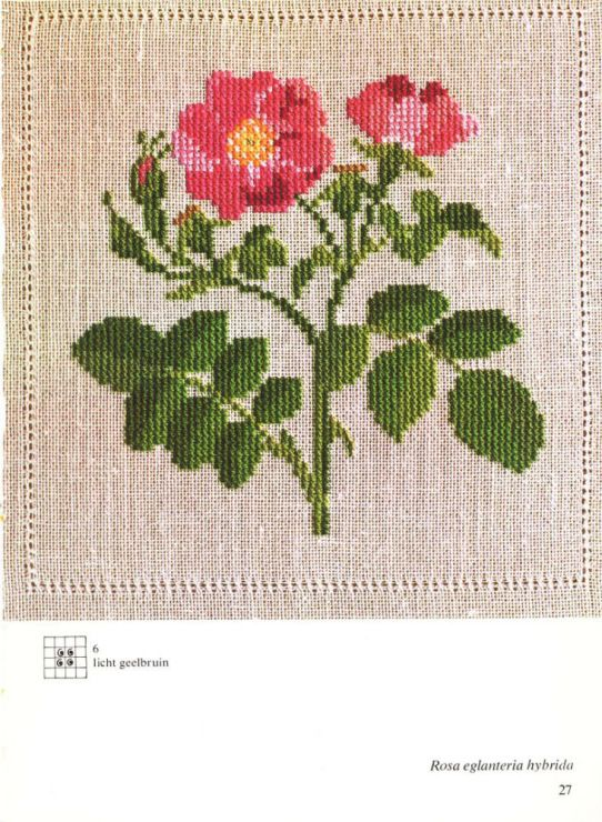 Gallery.ru / Фото #12 - Cross Stitch Pattern in Color - Mosca