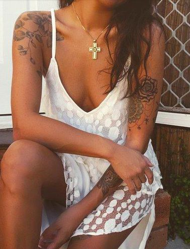 Girls in tattoos are hot. Period.