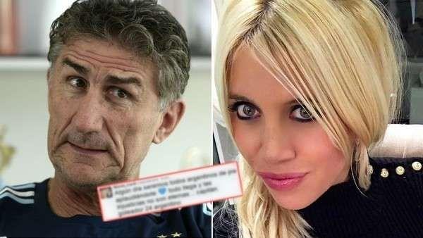 Wanda Nara, filosa en Twitter: apuntó contra Edgardo Bauza... ¡y lo borró! La mujer de Mauro Icardi quiere a su esposo en la Selección. Fuente ... http://sientemendoza.com/2017/03/13/wanda-nara-filosa-en-twitter-apunto-contra-edgardo-bauza-y-lo-borro/