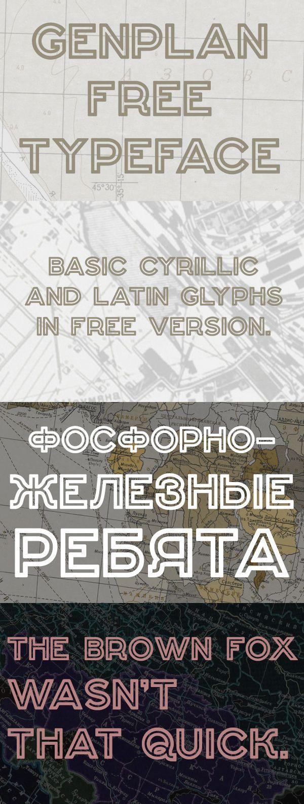 Genplan - Free Typeface