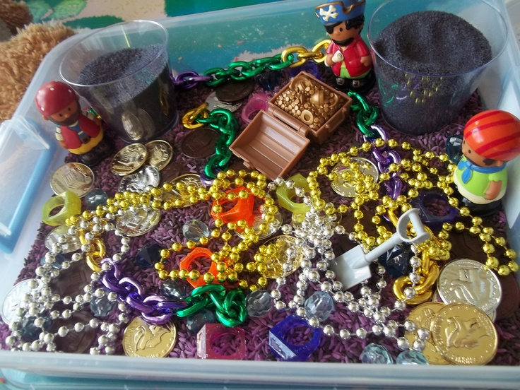 Pirate Sensory Box