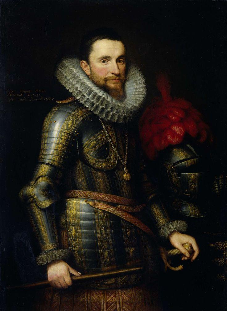 Michiel Jansz. van Mierevelt, Portret van Ambrogio Spinola (1569-1630),  1609 - Rijksmuseum Amsterdam