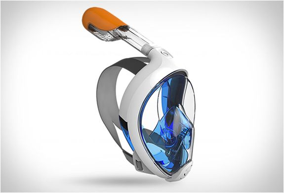 Easybreath Snorkeling Mask $55. Now we just need a mask that actually extracts oxygen from the water like a fish!