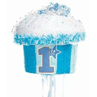 22 best 1st birthday party supplies images on pinterest 1st blue 1st birthday cupcake pinata for a boys party junglespirit Gallery