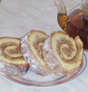 """Orientation meeting."" Recipes quick rolls for tea."