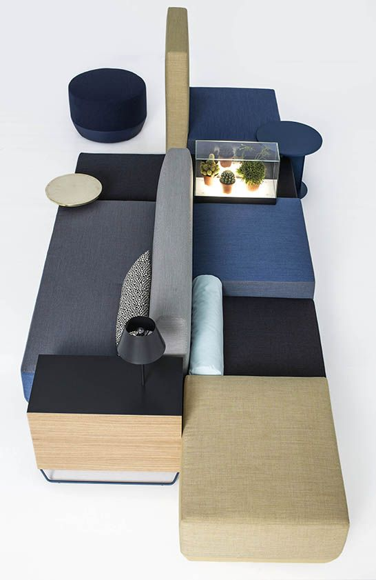 awesome giessegi modular living room furniture | sofa system, modular, Werner Aisslinger, Moroso, Bikini ...