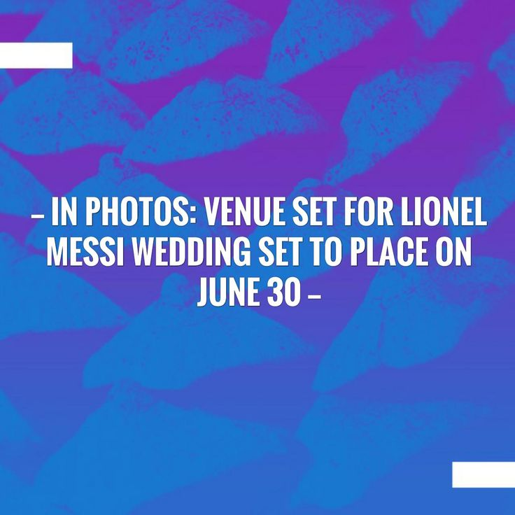 Just posted! In photos: Venue set for Lionel Messi wedding set to place on June 30 http://sportstribunal.com/la-liga-news/reviews-laliga/in-photos-venue-set-for-lionel-messi-wedding-set-to-place-on-june-30/?utm_campaign=crowdfire&utm_content=crowdfire&utm_medium=social&utm_source=pinterest
