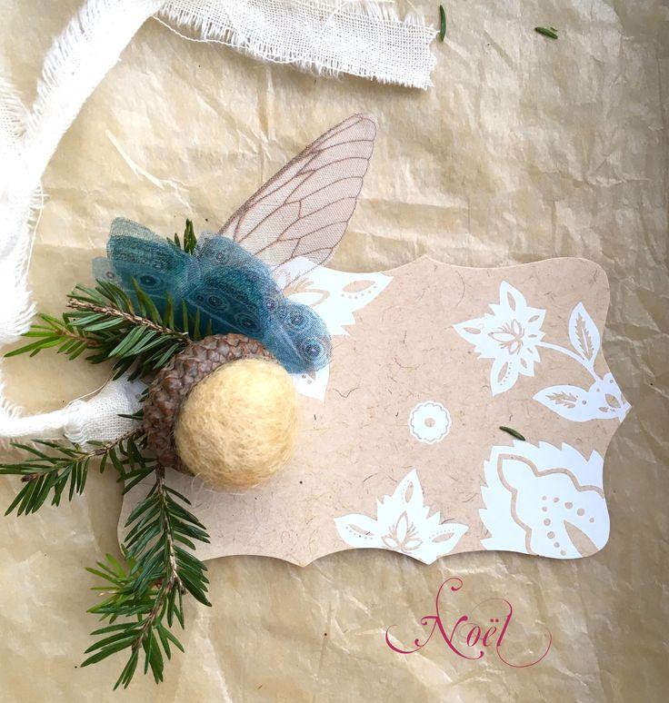 Sono felice di condividere l'ultimo arrivato nel mio negozio #etsy: Etiquettes Cadeau / Gift Tags / Christmas Cards / Holiday Cards / Xmas Card #prodottidicarta #etichette #natale #gift #card #naturalcards #etiquettegift