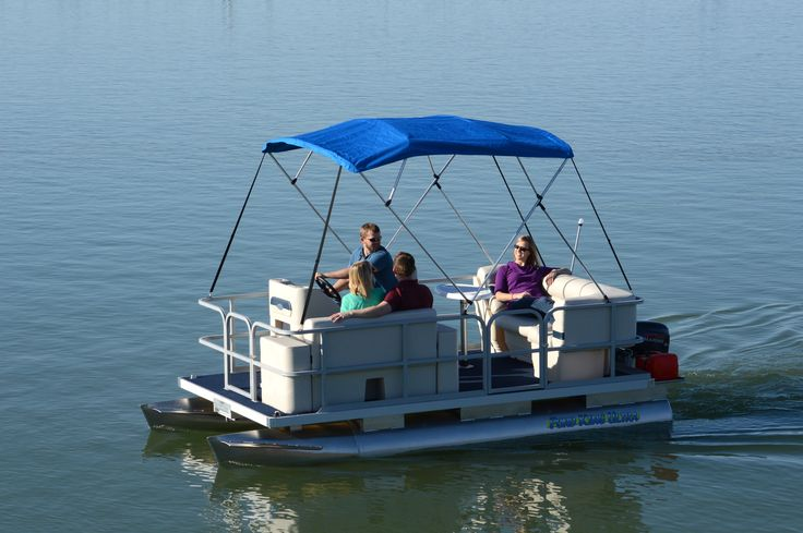 10 best pond king pontoon boats images on pinterest for Pond fishing boats