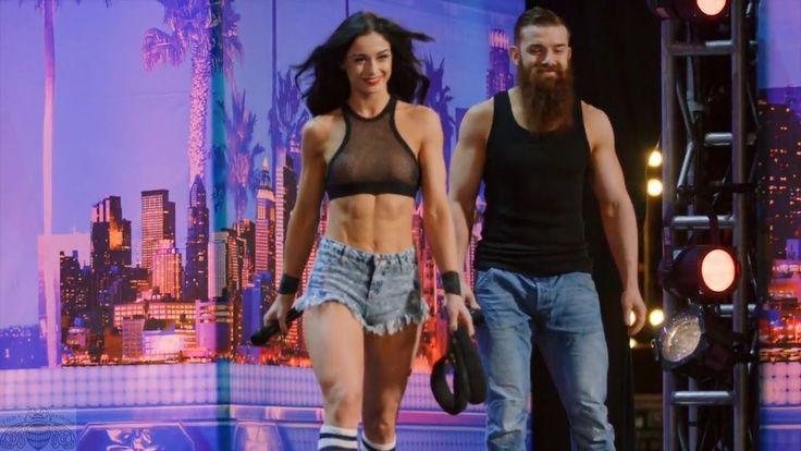 America's Got Talent 2017 Billy & Emily England Bro Sis Roller Daredevil...