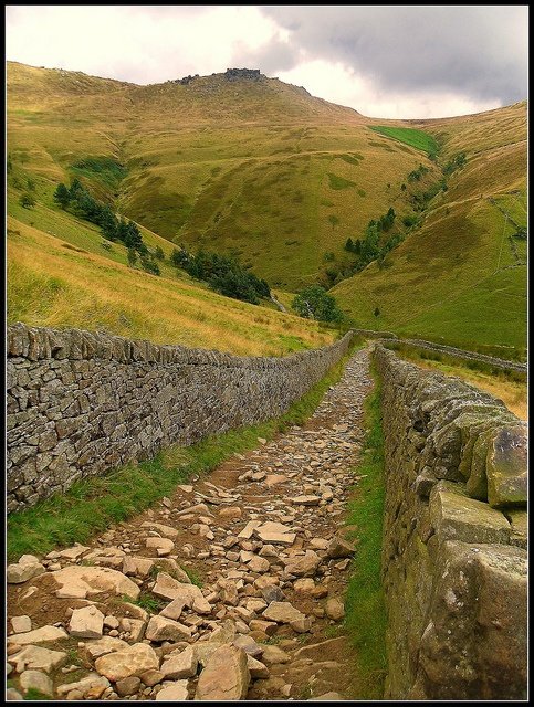 Jacob's Ladder, Derbyshire Peak District conserved by The National Trust, U.K.  Photo: Wainwright Warrior, via Flickr