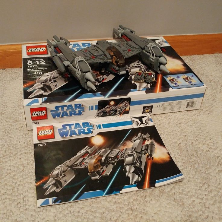 LEGO Star Wars MagnaGuard Starfighter (7673) 100% COMPLETE w/ ORIGINAL Box