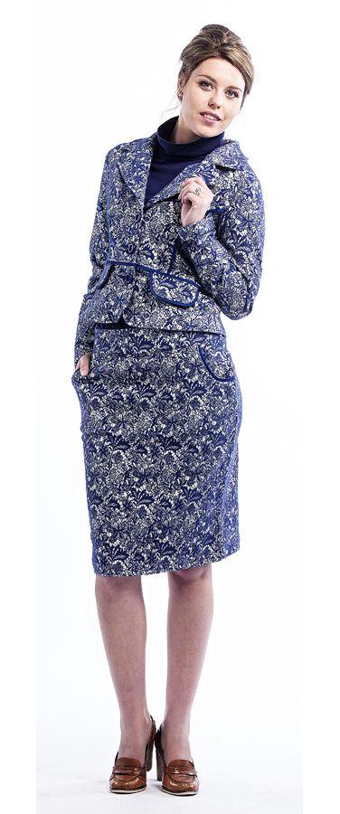 Siren Brocade Skirt and Jacket www.sassys.co.nz