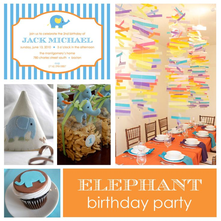 Elephant Theme 3rd Birthday Party: 62 Best Elephant 1st Birthday Images On Pinterest