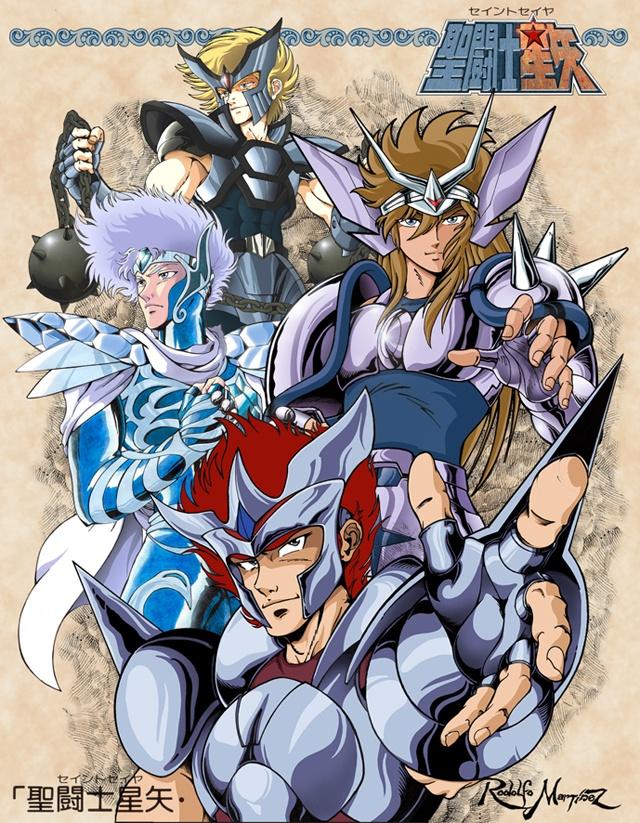 Saint Seiya - Silver Saints - Babel, Algol, Crystal & Dante