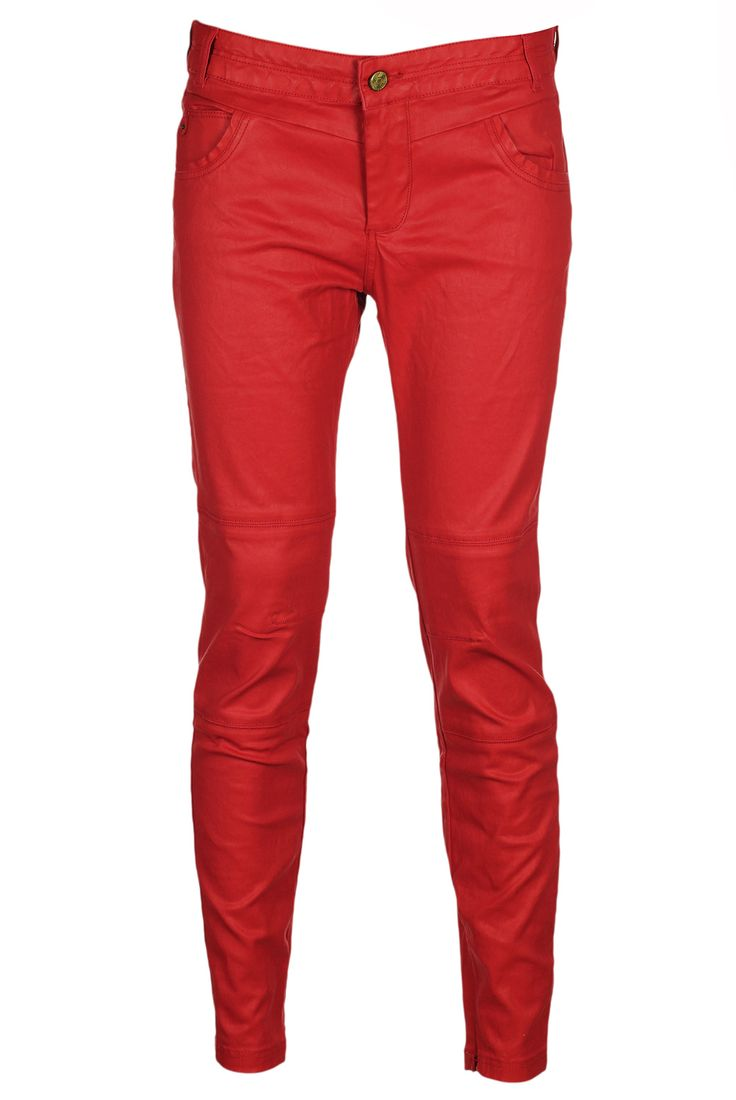 Pantaloni Pull and Bear Collection Red - doar 59,90 lei. Cumpara acum!