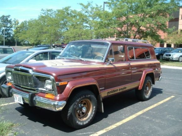 1979 Jeep Golden Eagle 4 This was my baby only higher.