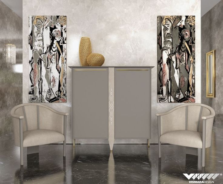 Absolutely Pure Luxury For Vismaradesign Entrance Hall Linear Shapes Sideboard Two 142 And