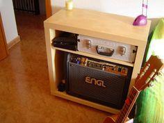 IKEA Hack - guitar amp storage