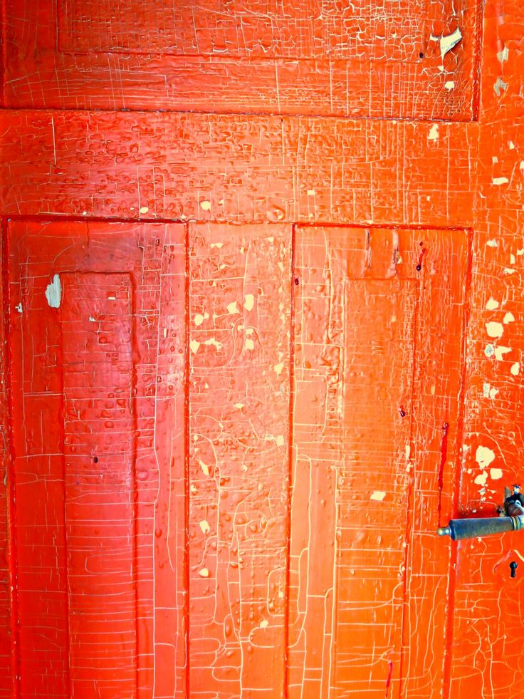 Suomi - Finland - Red old door
