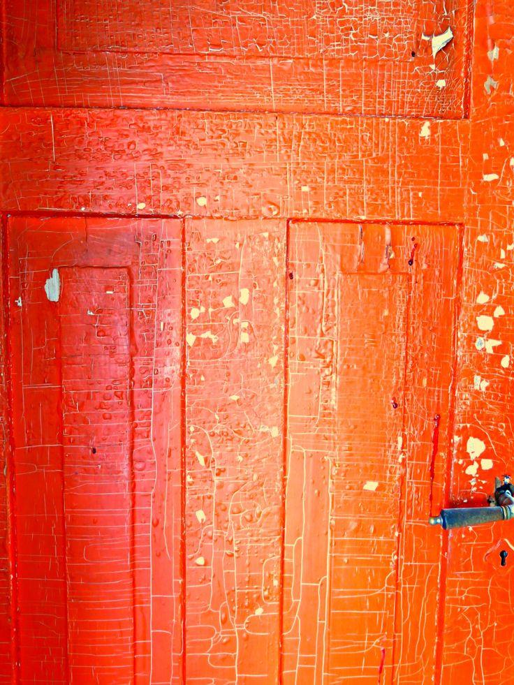 Suomi - Finland - Red old door