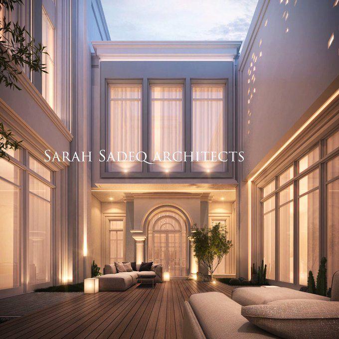 arch. Sarah sadeq 🇰🇼 on Twitter Villa design, House