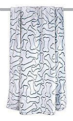DII Bone Dry Microfiber Pet Blanket for Dogs and Cats, 36×48″, Warm, Soft and Plush for Couch, Car, Trunk, Cage, Kennel, Dog House-Navy