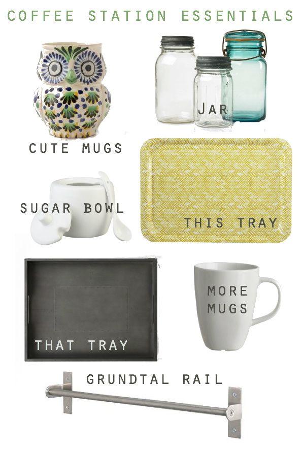 coffee station essentials