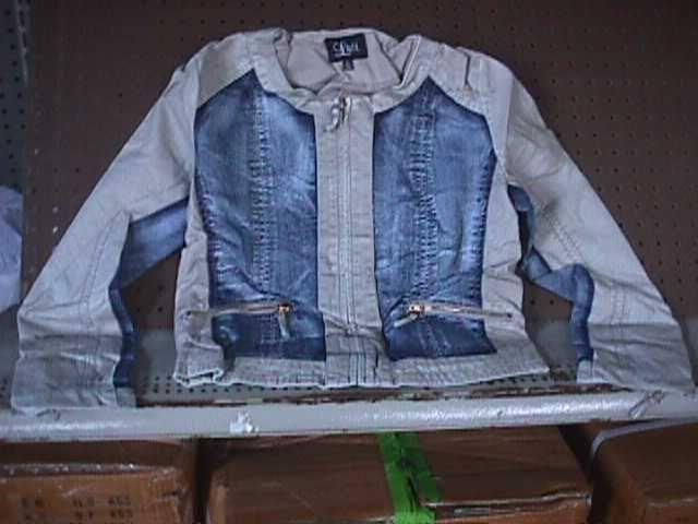 Ladies Denim Jacket w/ TAN Design {Luii} Size M MEDIUM NEW #J1133DOU - 20743 #UKOnlineShopping #UKShopping