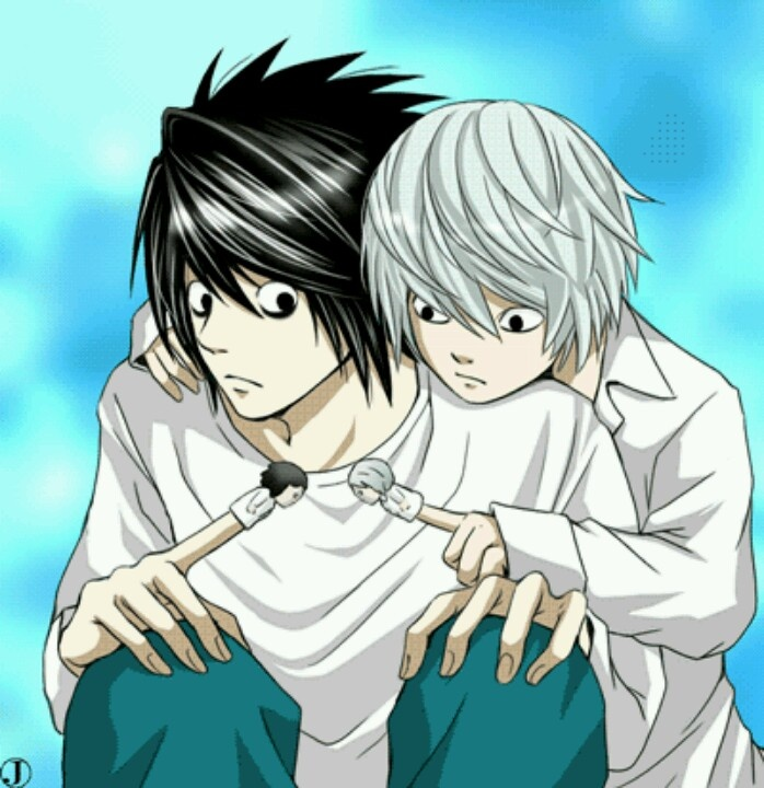 Death Note / L And Near / They Would Be Such Great Buddies