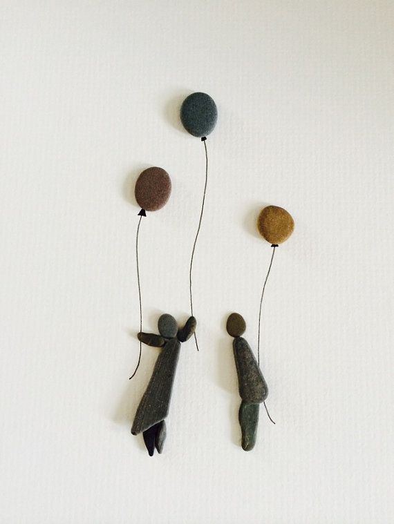Sharon Nowlan original arbeiten mit Kieselsteinen von PebbleArt                                                                                                                                                                                 Mehr