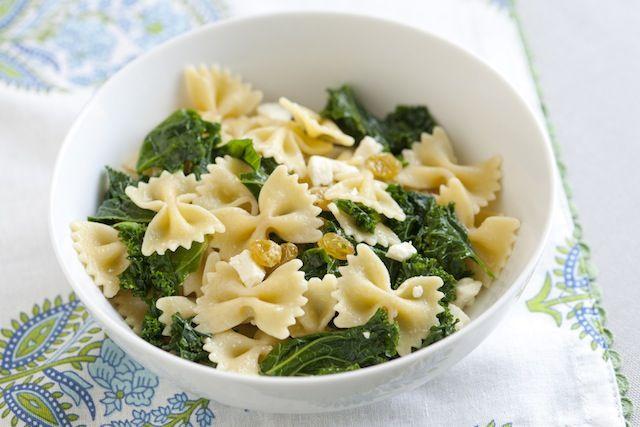 Brown Butter Kale Pasta Recipe #inspiredtaste