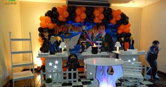 Decoração festa Harry Potter - Provençal