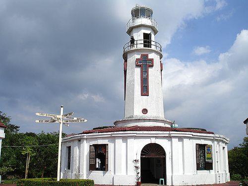 Corregidor lighthouse [1950 - Corregidor Island, Central Luzon, Luzon, Philippines]